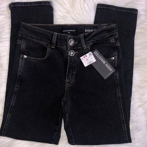 Reserved Denim - Black High Waisted Jeans